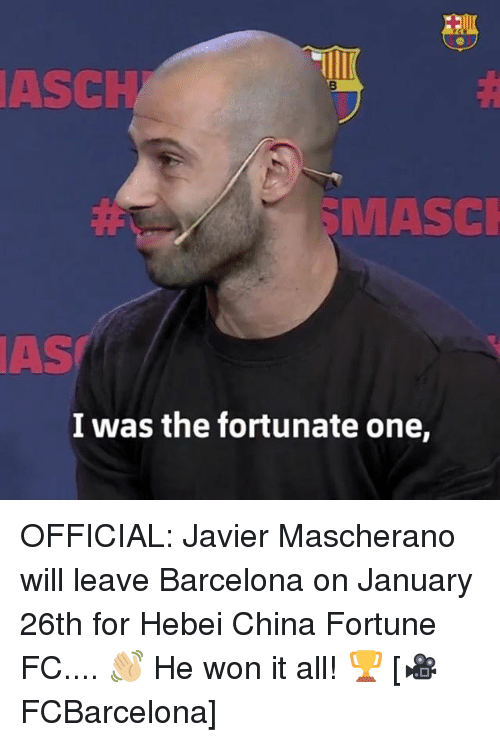 asch masci as i was the fortunate one official javier 30509127 25 best javier mascherano memes was memes, arturo memes, 7 years