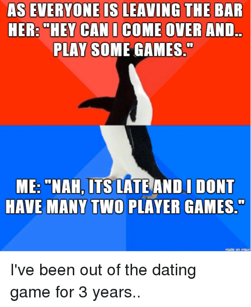 Player in the dating game