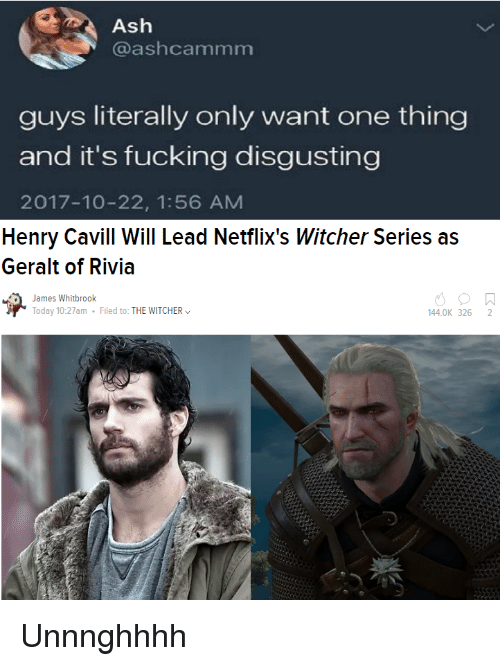 Ash Guys Literally Only Want One Thing And It S Fucking
