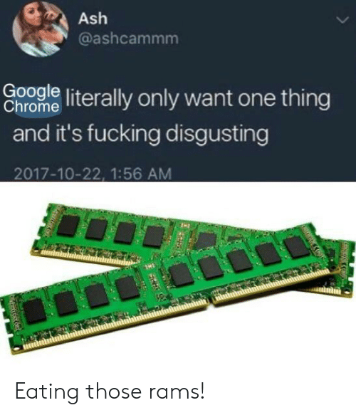 Coomle Literally Only Want One Thing Chrome and It's Fucking