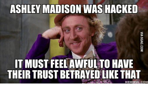 ashley madison was hacked it must feelawful to have their 13908288 ✅ 25 best memes about madison mean madison mean memes,Madison Meme