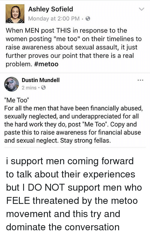 ashley sofield monday at 2 00 pm when men post 28440377 ashley sofield monday at 200 pm when men post this in response to