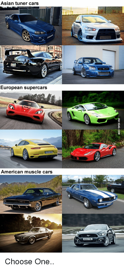 Best Memes About American Muscle Car American Muscle Car
