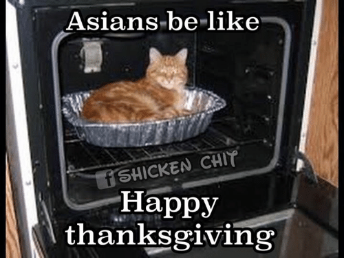 asians be like shicken chit happy thanksgiving 7287096 asians be like shicken chit happy thanksgiving asian meme on me me