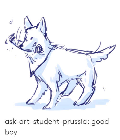 Target, Tumblr, and Blog: ask-art-student-prussia:  good boy