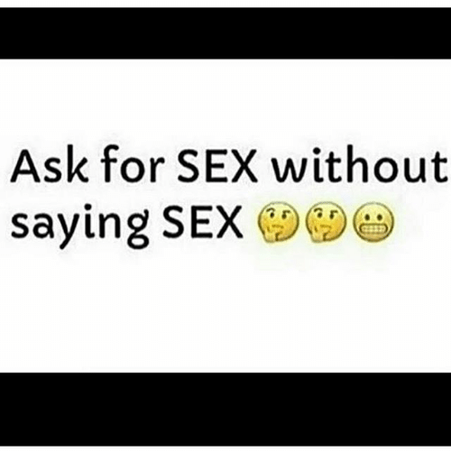 How to ask for sex without asking photo 77