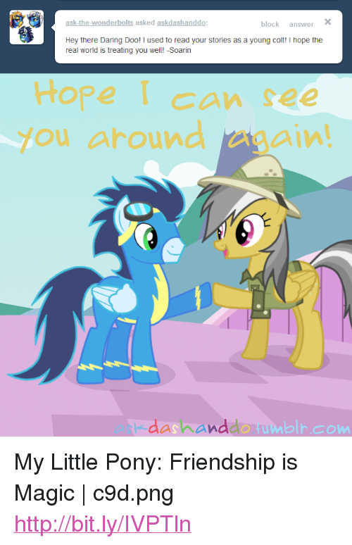 Ask-The-Wonderbolts Asked Askdashanddo Block Answer Hey There Daring