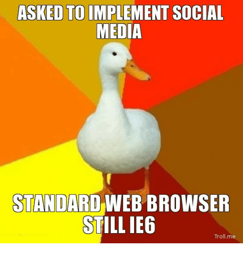 social media web browser