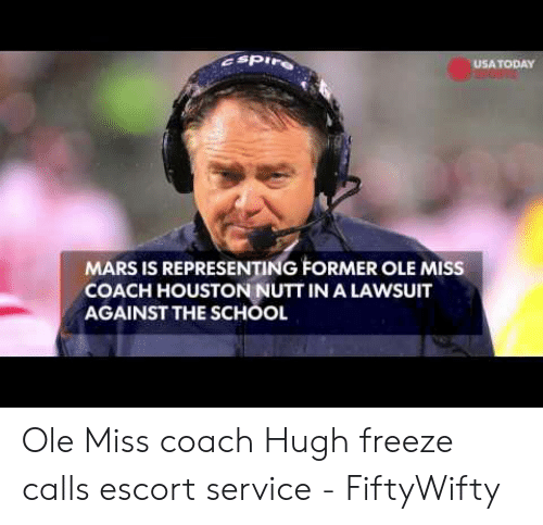 Asp Usa Today Mars Is Representing Former Ole Miss Coach Houston