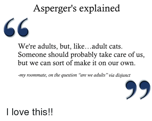 aspergers view of love