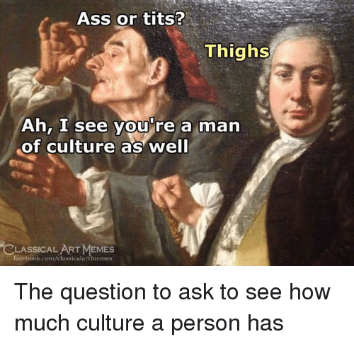 Are you an ass or tits man