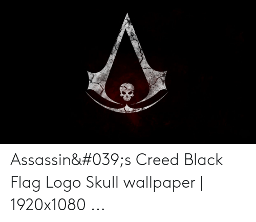 Assassin 039s Creed Black Flag Logo Skull Wallpaper 1920x1080