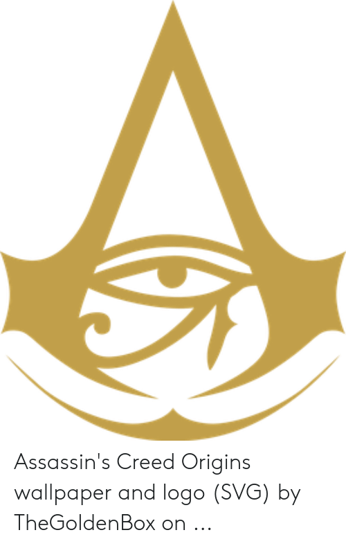Assassin S Creed Origins Wallpaper And Logo Svg By Thegoldenbox On