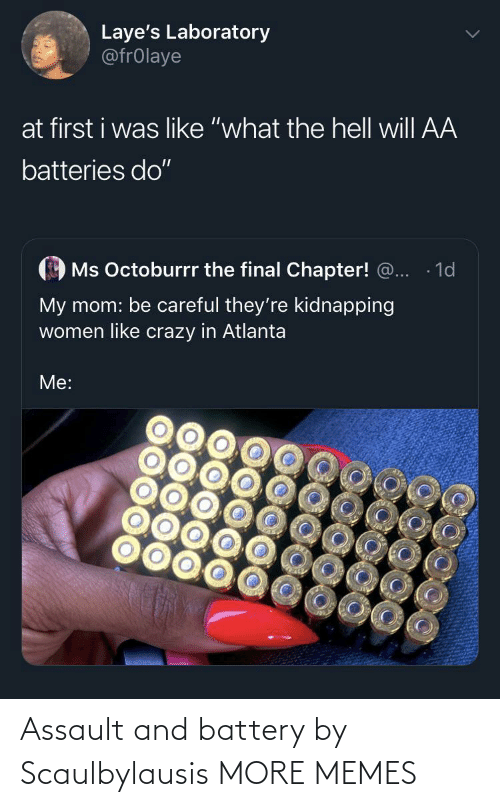 Dank, Memes, and Target: Assault and battery by Scaulbylausis MORE MEMES