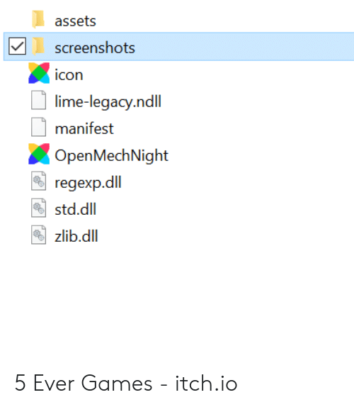Assets Screenshots Icon Lime-Legacyndll Manifest Open