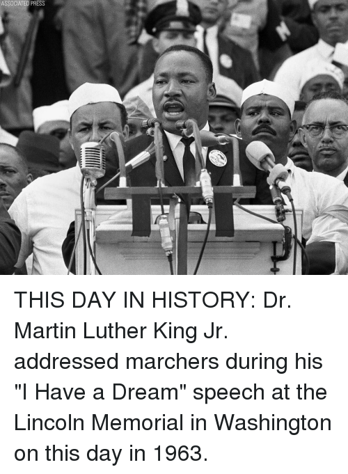 Associated Press This Day In History Dr Martin Luther King Jr