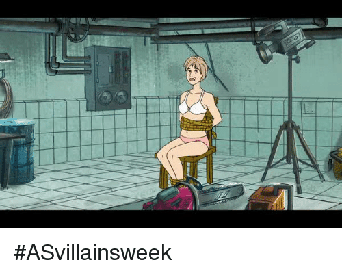 Dank and 🤖: #ASvillainsweek