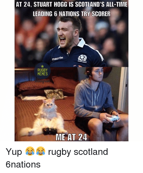 at 24 stuart hoggis scotlands all time leading 6 nations try 13868810 at 24 stuart hoggis scotland's all time leading 6 nations try