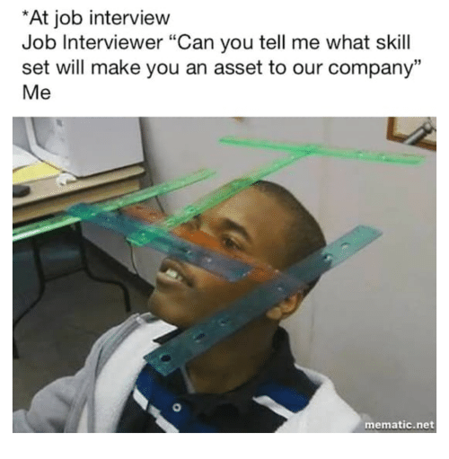 At Job Interview Job Interviewer Can You Tell Me What Skill Set Will