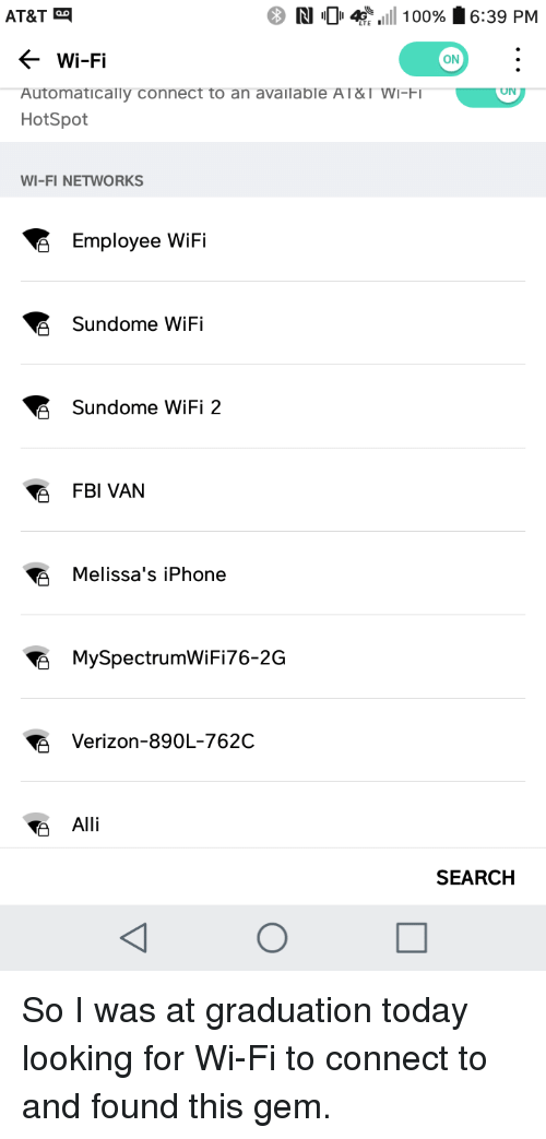 Automatically connect to wifi iphone 6