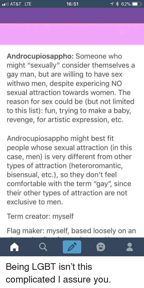 men and sexual attraction