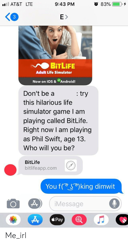 At&T LTE 943 PM 3 EX BİTLİFE Adult Life Simulator Now on Ios