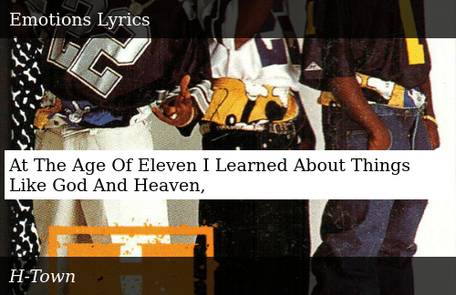 SIZZLE: At The Age Of Eleven I Learned About Things Like God And Heaven,