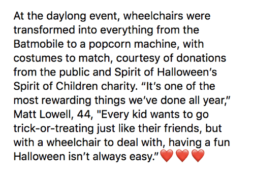At the Daylong Event Wheelchairs Were Transformed Into