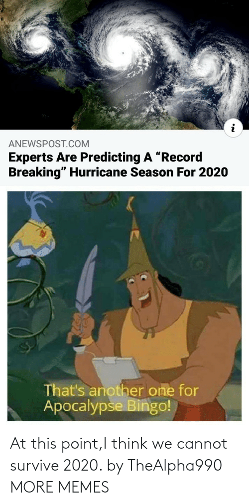 Dank, Memes, and Target: At this point,I think we cannot survive 2020. by TheAlpha990 MORE MEMES