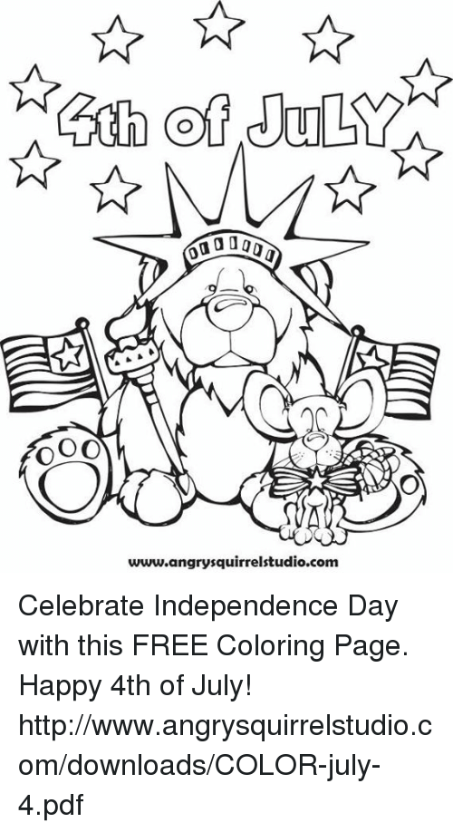 July 4 Coloring Pictures : ✅ 25 best memes about 4th of july