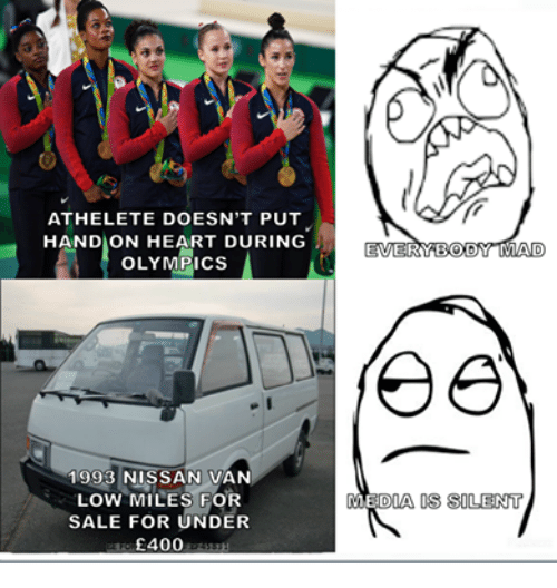 Vans, Heart, and Hearts: ATHELETE DOESN'T PUT  HAND ON HEART DURING  OLYMPICS  1993 NISSAN VAN  LOW MILES FOR  SALE FOR UNDER  £400  EVERYBODY MAD  DIA OS SOLENT