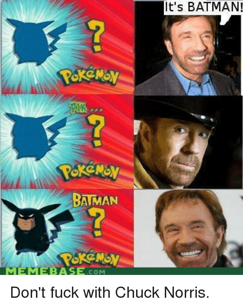 Dont fuck with chuck norris