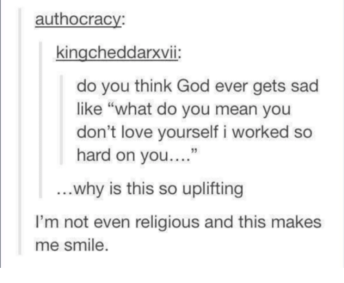 What does dont be so hard on yourself mean