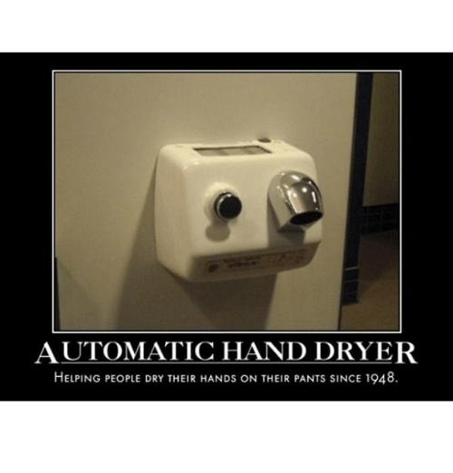 automatic hand dryer helping people dry their hands on their 15251001 ✅ 25 best memes about hand dryer hand dryer memes