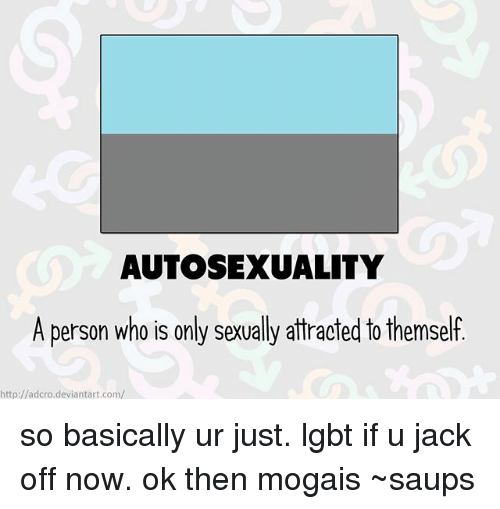 What is autosexual
