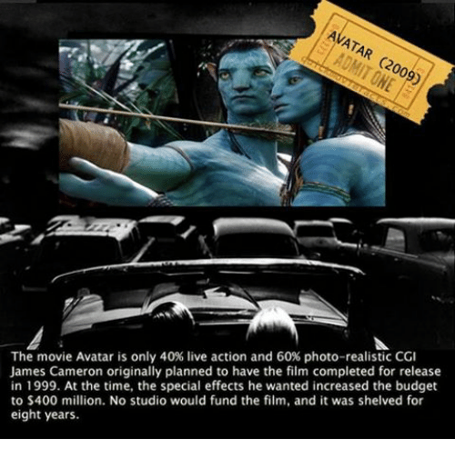 Avatar 2009 Film: 25+ Best Memes About Special Effect