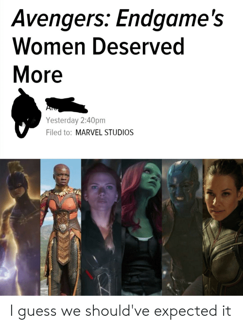 Avengers Endgame's Women Deserved More Yesterday 240pm Filed to
