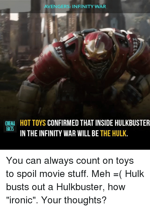 avengers infinity war cinema facts hot toys confirmed that inside