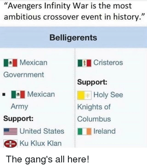 Avengers Infinity War Is the Most Ambitious Crossover Event