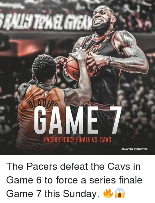 pacers vs cavs game 6