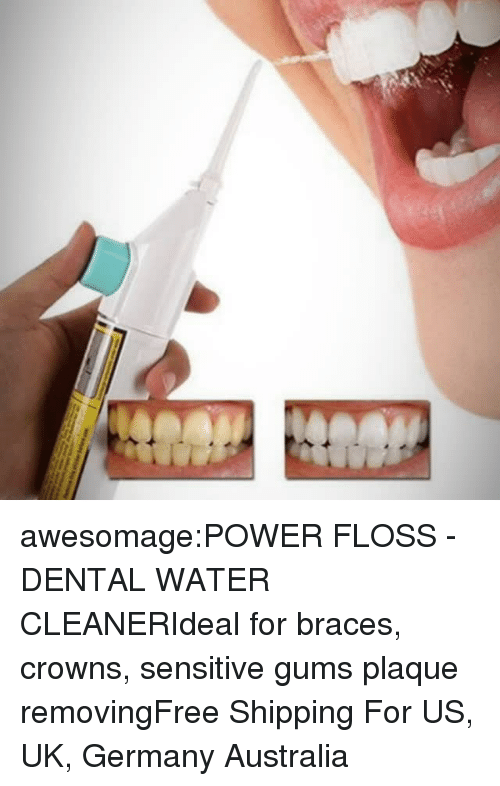 awesomagePOWER FLOSS - DENTAL WATER CLEANERIdeal for Braces