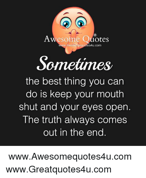 Awesome Quotes Awe Ieguotes4ucom Sometime The Best Thing You Can Do
