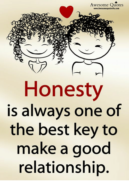 Awesome Quotes Honesty Is Alwavs One of the Best Key to Make ...
