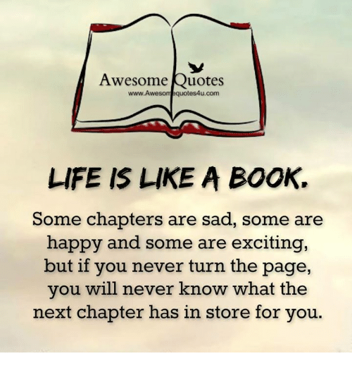 Awesome Quotes Www Awesome Quotes4ucom Life Is Like A Book Some