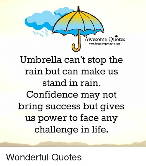 Confidence, Memes, And Rain: Awesome Quotes Www. Awesome Quotes4u.com  Umbrella