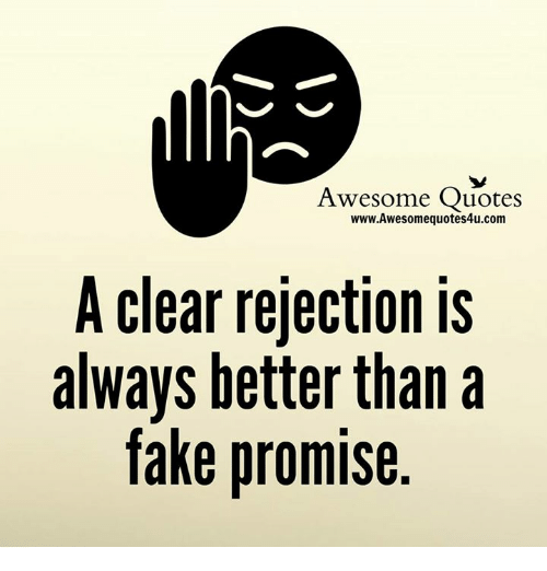 Quotes About People Who Notice: Awesome Quotes WwwAwesomequotes4ucom A Clear Rejection Is