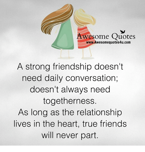 Best Quotes About Strong Heart: Awesome Quotes WwwAwesomequotes4ucom A Strong Friendship