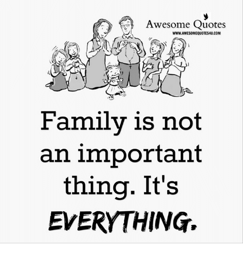 Why Family Is Important Quotes: 25+ Best Memes About Awesome Quotes