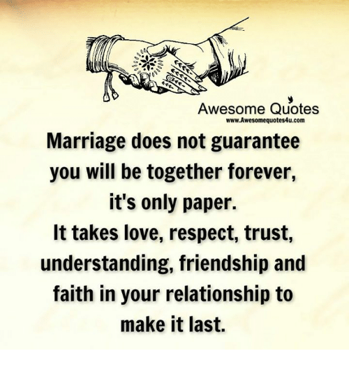 Awesome Quotes WwwAwesomequotes60ucom Marriage Does Not Guarantee You Fascinating Love Marriage Quotes
