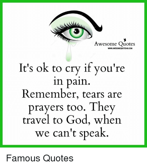 Quotes About Crying: 25+ Best Memes About Awesome, Com, And Quote